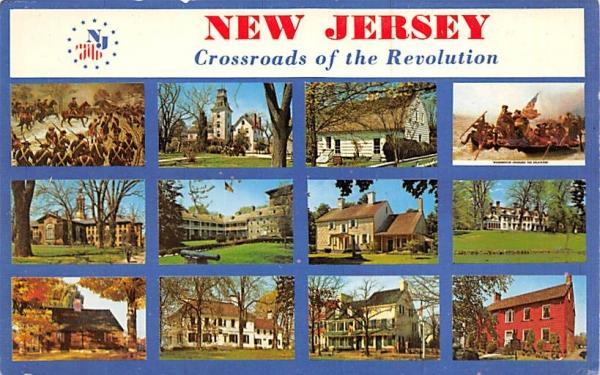 New Jersey Crossroads of the Revolution Postcard