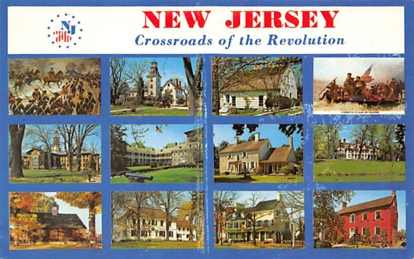 New Jersey The Crossroads of the Revolution Postcard