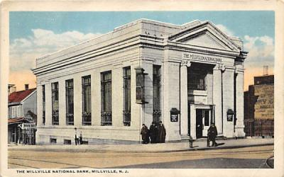 The Millville National Bank New Jersey Postcard