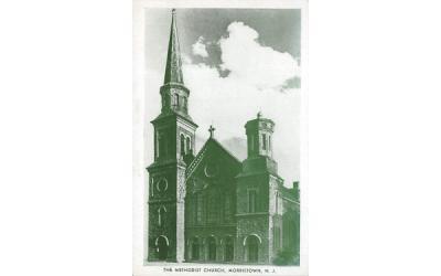 The Methodist Church Morristown, New Jersey Postcard