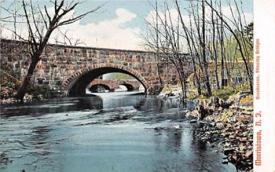 Brookscene, Showing Bridges Morristown, New Jersey Postcard