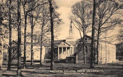 Brothers College, Drew University Madison, New Jersey Postcard