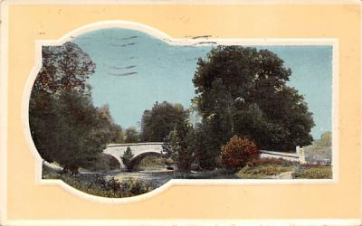 Picture of a bridge Misc, New Jersey Postcard