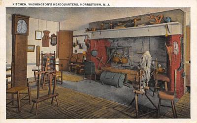 Kitchen, Washington's Headquarters Morristown, New Jersey Postcard