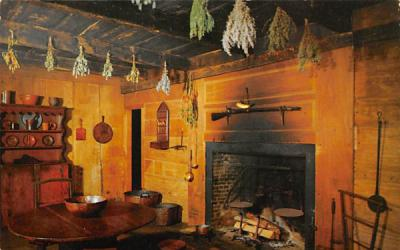 A Corner of the Kitchen in the Wick House Morristown, New Jersey Postcard