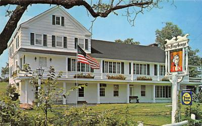 King George Inn Mt Bethel, New Jersey Postcard