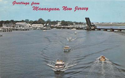 The Manasquan River New Jersey Postcard