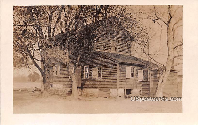 Mina Shings Lived beside Baptist Church - Misc, New Jersey NJ Postcard