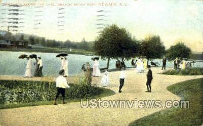 Long Lake - Newark, New Jersey NJ Postcard
