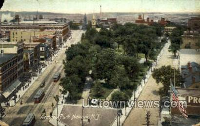 Armory Park - Newark, New Jersey NJ Postcard