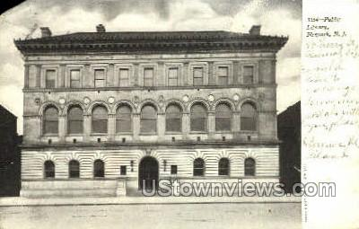 Public Library - Newark, New Jersey NJ Postcard
