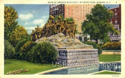 America Monument Military Park - Newark, New Jersey NJ Postcard