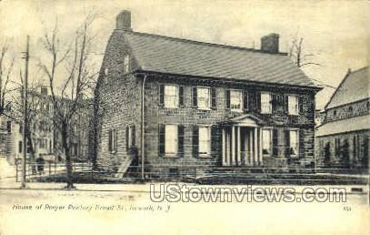 House Of Prayer Rectory  - Newark, New Jersey NJ Postcard