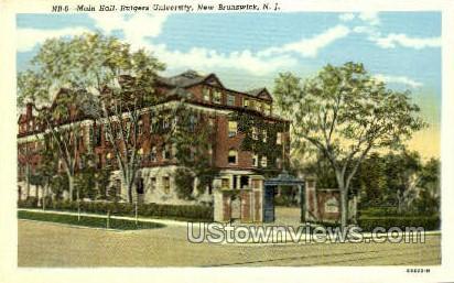 Rutgers College - New Brunswick, New Jersey NJ Postcard