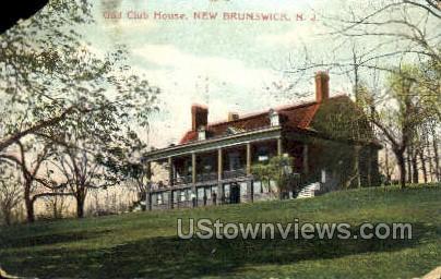 Golf Club House  - New Brunswick, New Jersey NJ Postcard