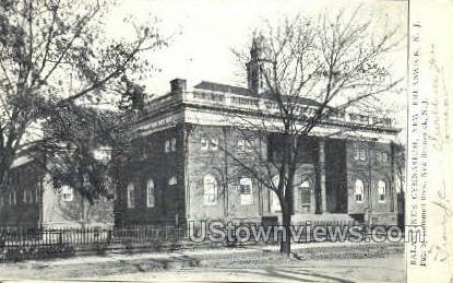 Ballantines Gymnasium - New Brunswick, New Jersey NJ Postcard