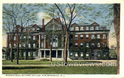 Witants Hall Rutgers College - New Brunswick, New Jersey NJ Postcard