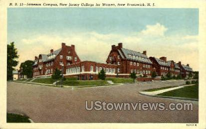 Jameson Campus  - New Brunswick, New Jersey NJ Postcard