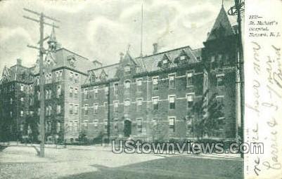 St Michaels Hospital - Newark, New Jersey NJ Postcard
