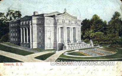 New Court House - Newark, New Jersey NJ Postcard