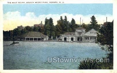 Boat House - Newark, New Jersey NJ Postcard