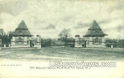 Ballantines Gateway  - Newark, New Jersey NJ Postcard