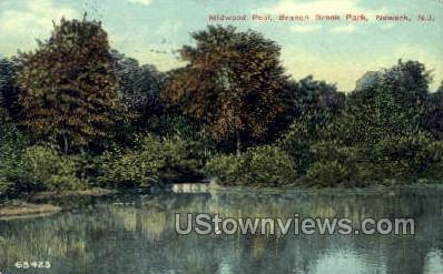Midwood Pool  - Newark, New Jersey NJ Postcard