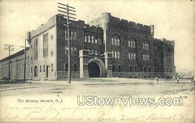 The Armory - Newark, New Jersey NJ Postcard