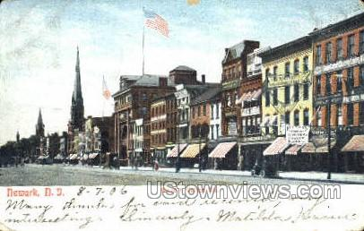 Broad And William Street  - Newark, New Jersey NJ Postcard