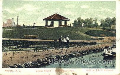 Meeker Mound - Newark, New Jersey NJ Postcard