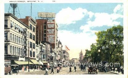 Board Street - Newark, New Jersey NJ Postcard