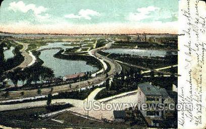 Branch Brook Park - Newark, New Jersey NJ Postcard