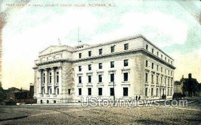 Essex County Court House - Newark, New Jersey NJ Postcard