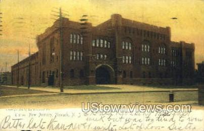 New Armory - Newark, New Jersey NJ Postcard