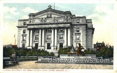 Lincoln Monument  - Newark, New Jersey NJ Postcard