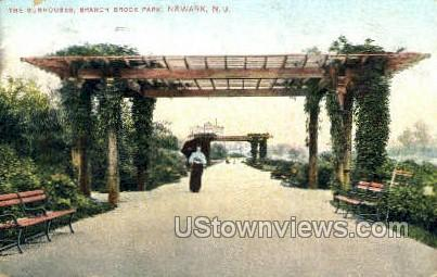 The Sun Houses  - Newark, New Jersey NJ Postcard
