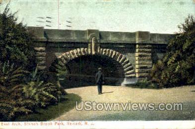 East Arch Branch Brook Park - Newark, New Jersey NJ Postcard