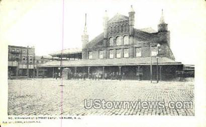 Market Street Depot - Newark, New Jersey NJ Postcard