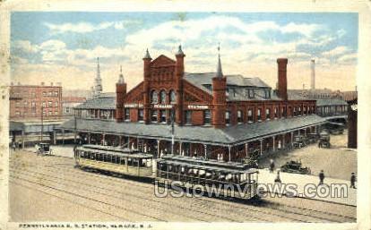 Pennsylvania Rr Station  - Newark, New Jersey NJ Postcard