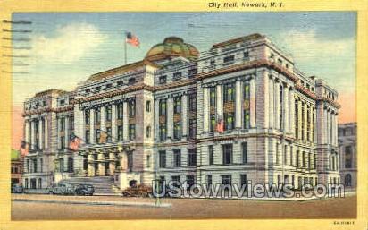 City Hall  - Newark, New Jersey NJ Postcard