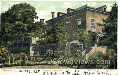 Pioneer Greisenheim - Newark, New Jersey NJ Postcard