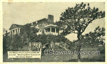 Manor House - Newark, New Jersey NJ Postcard