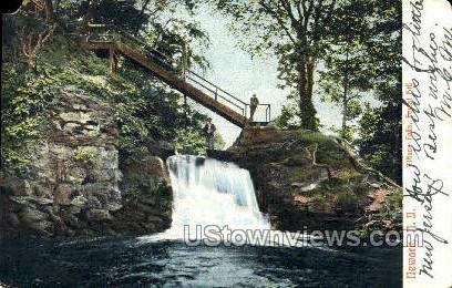 Tiffany Falls - Newark, New Jersey NJ Postcard