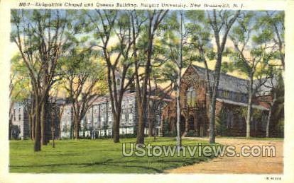 Kirkpatrick'S Chapel - New Brunswick, New Jersey NJ Postcard