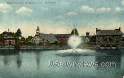 Reservoir - Newark, New Jersey NJ Postcard
