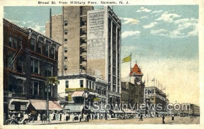 Military Park  - Newark, New Jersey NJ Postcard