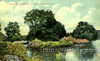 Clarks Island  - Newark, New Jersey NJ Postcard