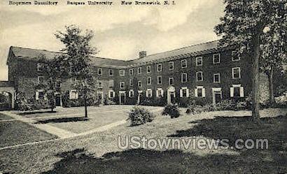 Hageman Dormitory Rutgers University - New Brunswick, New Jersey NJ Postcard
