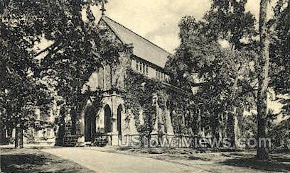 Kirkpatrick Chapel - New Brunswick, New Jersey NJ Postcard