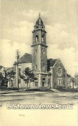 5Th Avenue Church - Newark, New Jersey NJ Postcard